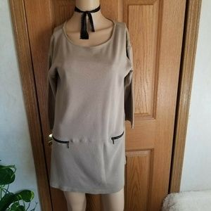 Soft Surroundings Tops - Soft Surroundings Neutral camel color tunic dress